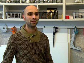 Lukáš Houdek, photo: Czech Television