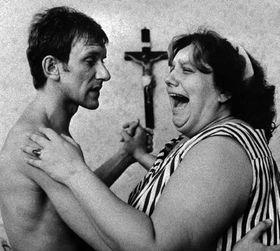 Helena Ruzicková como Hedus en la película Ecce Homo Homolka, 1969, foto: CTK