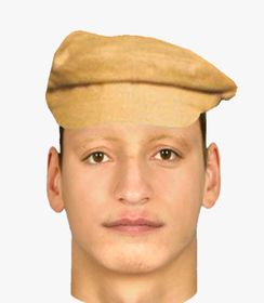 Identikit of the attacker, photo: Czech Police