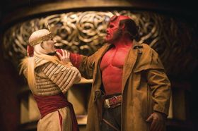Ron Perlman as Hellboy, photo: Columbia Pictures