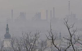 La contaminación del aire en la ciudad de Ostrava, foto: ČTK