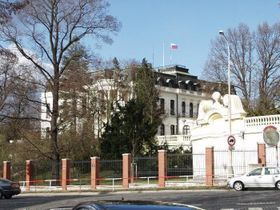 Russian Embassy, photo: Archive of the Russian Embassy in Prague