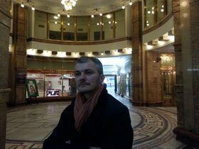 Karel Och at Adria Palace, former home of Ponrepo, photo: Ian Willoughby
