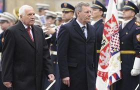 Václav Klaus und Christian Wulff (Foto: ČTK)