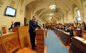 Petr Nečas im Senat (Foto: ČTK)