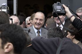 Jacques Chirac, photo: Eric Pouhier, CC BY-SA 2.5