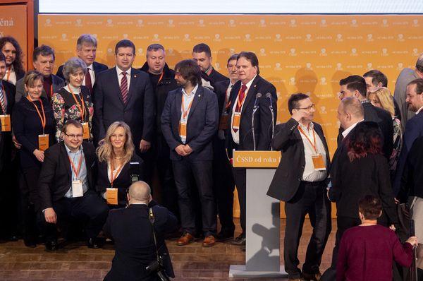 Sjezd ČSSD, foto: ČTK / David Taneček