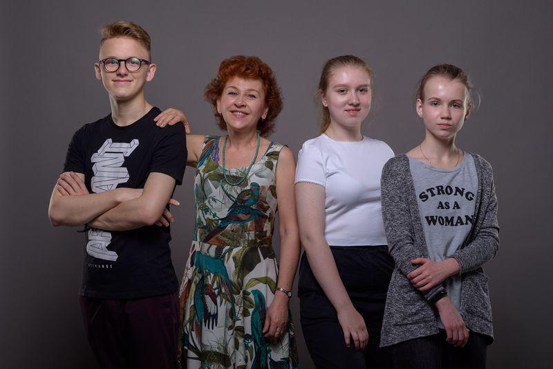 Ян Чмейла, Лорета Вашкова, Мария Слащёва и Александра Арсёнова, фото: Khalil Baalbaki
