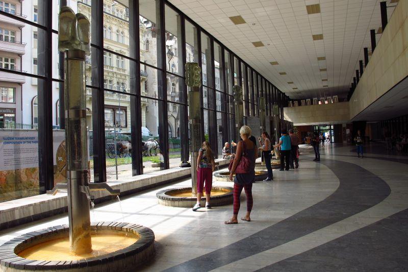 Колоннада в Карловых Варах, фото: Кристина Макова