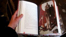 Новое издание романа «Мастер и Маргарита» на чешском языке, Фото: Вирджиния Варгольская, Чешское радио - Радио Прага