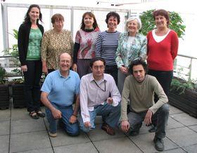El equipo de la Redacción Iberoamericana en 2007, foto: Archivo de ČRo - Radio Praga