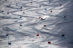Riesenslalom - obří slalom (Foto: ČTK / David Taneček)