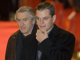 Robert De Niro, Matt Damon, photo: Thore Siebrands CC BY-SA 2.0