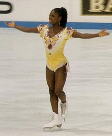 Surya Bonaly, photo: Uwe Langer, Creative Commons 3.0