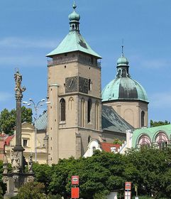La iglesia de la Asunción de la Virgen María de Havlíčkův Brod, foto: Thalion77, CC BY 2.5