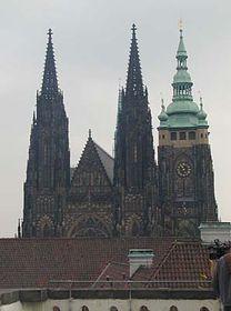 Der St. Veitdom (Foto: Autorin)