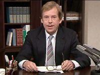 Václav Havel, photo: Czech Television