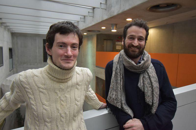 Marko Luth et Klez Brandar, photo: Ondřej Tomšů
