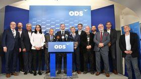 Representantes del Partido Cívico Democrático, foto: ČTK / Michal Kamaryt