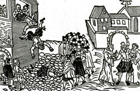 Дефенестрация 1618 года, фото: Открытый источник