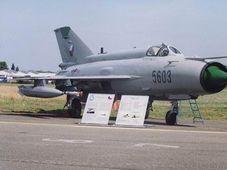 МиГ 21, фото: www.army.cz