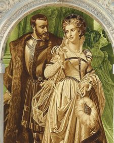 Рудольф II и Катерина Страда, фото: Kosmas