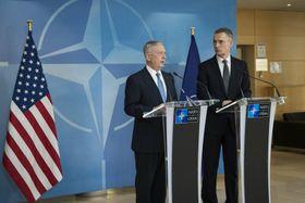 James Mattis, NATO Secretary General Jens Stoltenberg, photo: U.S. Department of Defense, flickr.com, CC BY 2.0