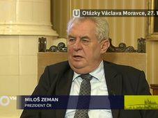 Miloš Zeman, photo: CT
