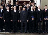 Jirí Paroubek und seine Mitte-Links-Regierung  (Foto: CTK)