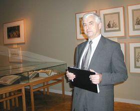 Историк Вацлав Ледвинка (Фото: Архив Чешского радио - Радио Прага)