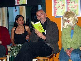 Presentación del libro de Jorge Zúñiga Pavlov en Praga
