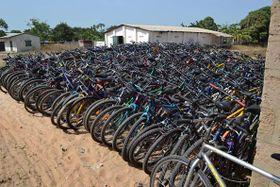 Foto: Roman Posolda, archivo del proyecto 'Bicicletas para África'