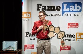 FameLab - International Echoes 2018, photo: Tomáš Belloň
