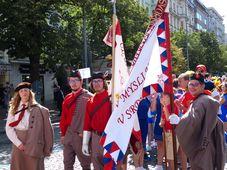 XVI Всесокольский слет, фото: Клара Стейскалова