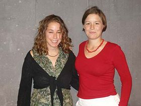 Jessie Labov and Friederike Kind-Kovacs, photo: Linda Mastalir