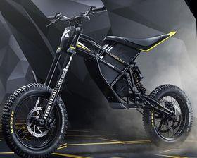Электрический мотоцикл, Фото: официальный сайт компании Kuberg