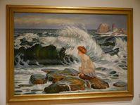 František Kupka, 'La vague', photo: Magdalena Hrozínková