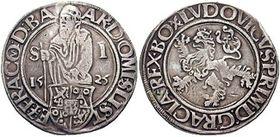 Jáchymovské tolary, foto: Classical Numismatic Group, CC BY-SA 3.0 Unported
