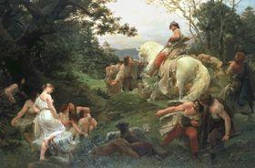 'Oldrich y Bozena' de Frantisek Zenísek