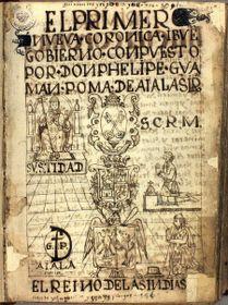 Primer nueva corónica y buen gobierno, foto: public domain
