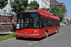 Троллейбусы, Фото: архив Škoda Electric