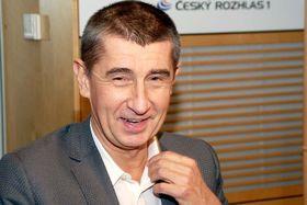 Andrej Babiš (Foto: Šárka Ševčíková, Archiv des Tschechischen Rundfunks)