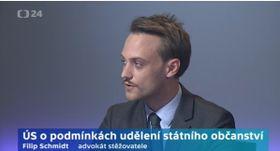 Filip Schmidt, foto: ČT