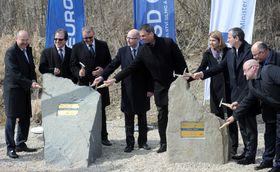 Zahájení stavby dalšího úseku dálnice D3, foto: ČTK