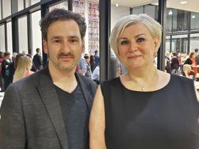 Falk Hoffmann und Dana Zahrádková (Foto: Maria Hammerich-Maier)