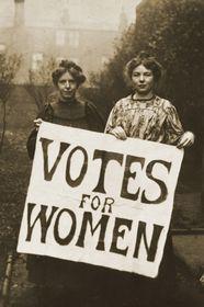 Kampf um das Frauenwahlrecht in den USA (Foto: Wikimedia Commons, CC0)