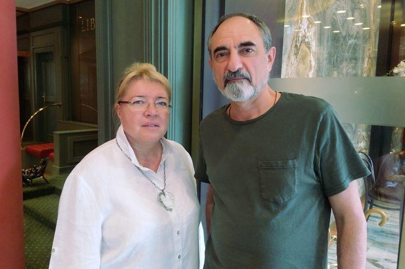 Елена Жемкова и Борис Беленкин, фото: Антон Каймаков