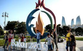 Jeux européens à Bakou, photo : Archives d'Administration du président de Russie, CC BY 3.0