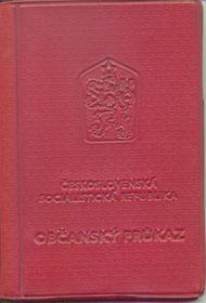 Чехословацкая идентификационная карта (Фото: Дан Лукеш, Public Domain)