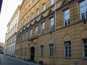 Родной дом Т. Р. Фильда в Праге на улице Островни